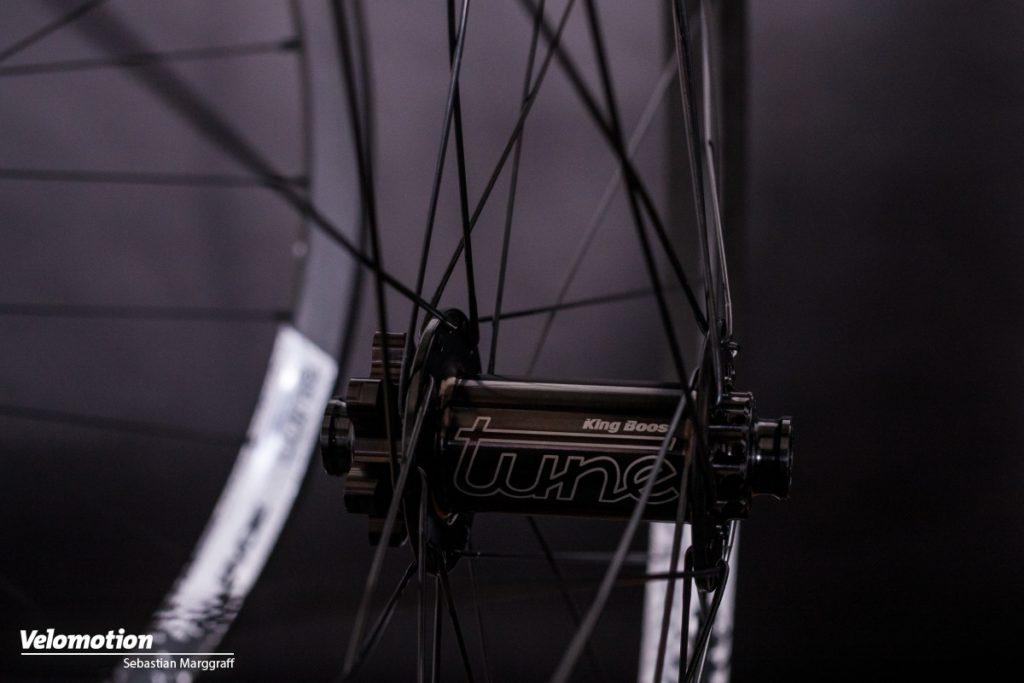 Tune Endurorider Laufräder Nabe Vorne Nicht-Bremsseite