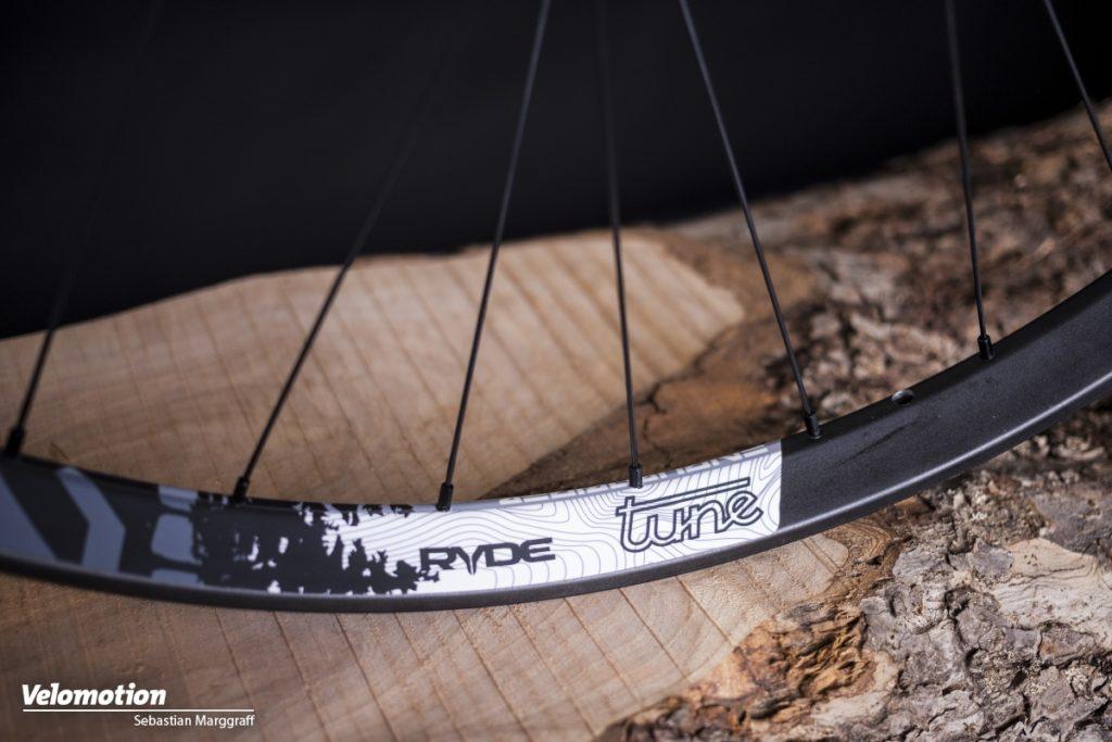 Tune Endurorider Laufräder Felgenaufkleber Logos
