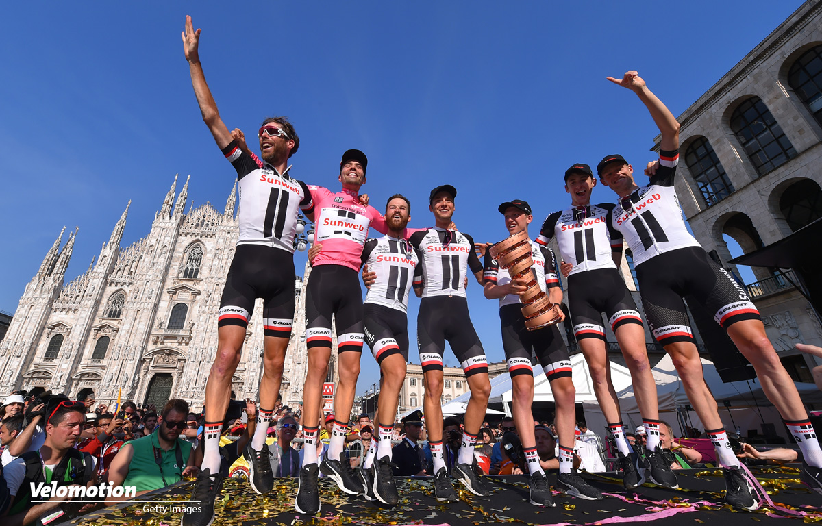 Giro d'Italia Teams Sunweb