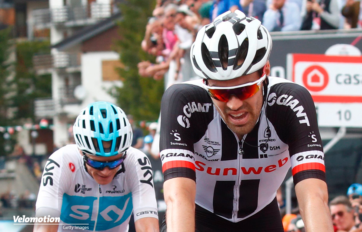 Giro d'Italia Dumoulin Froome