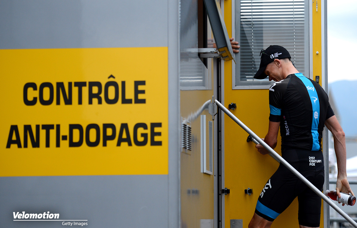 Doping Froome