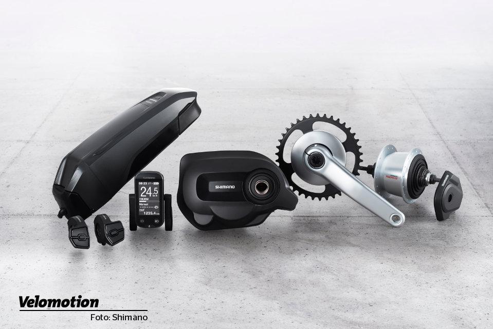 E-Bike Motoren 2019: Shimano Steps E6100