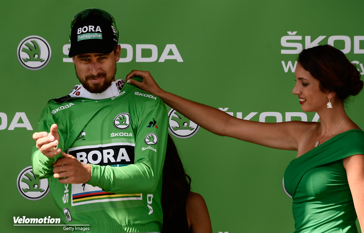 Grünes Trikot Tour de France 2019 Peter Sagan
