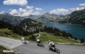 Tour de France Bilder 2018 Roselend Lake
