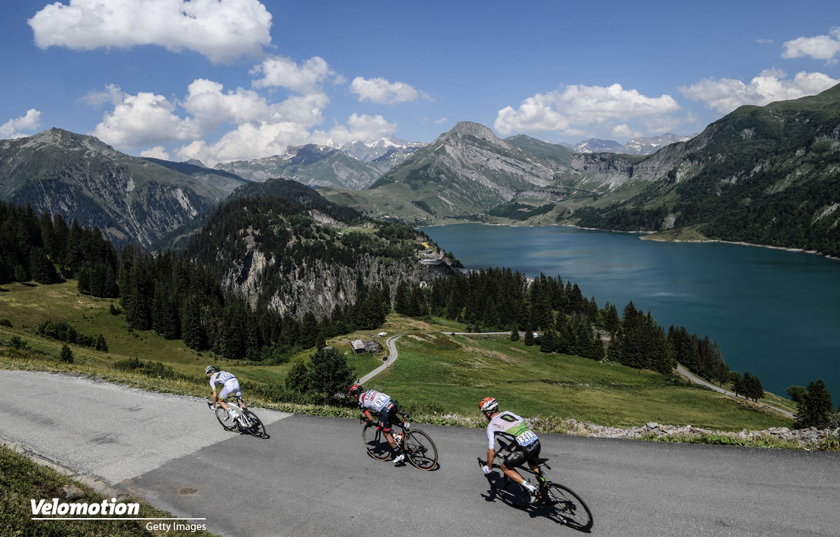 Tour de France Bilder 2018 Roselend Lake