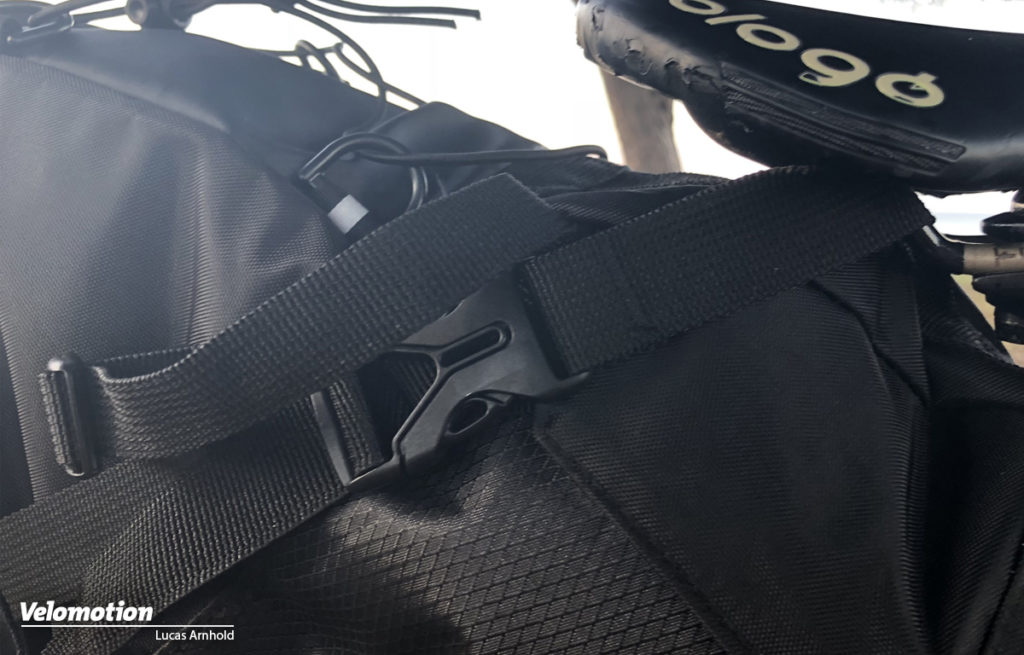 Giant Scout Seatbag Verschluss