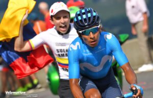 Tour de France Teams Movistar Quintana