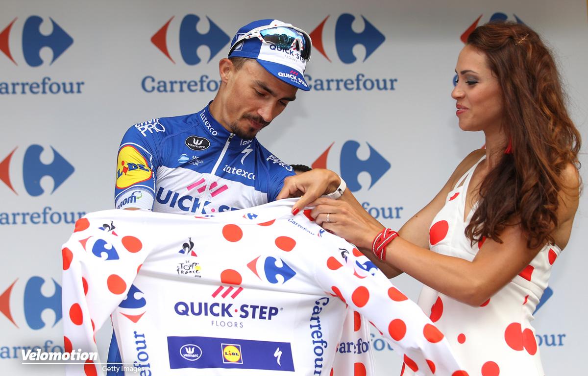 Bergtrikot Tour de France 2019 Alaphilippe