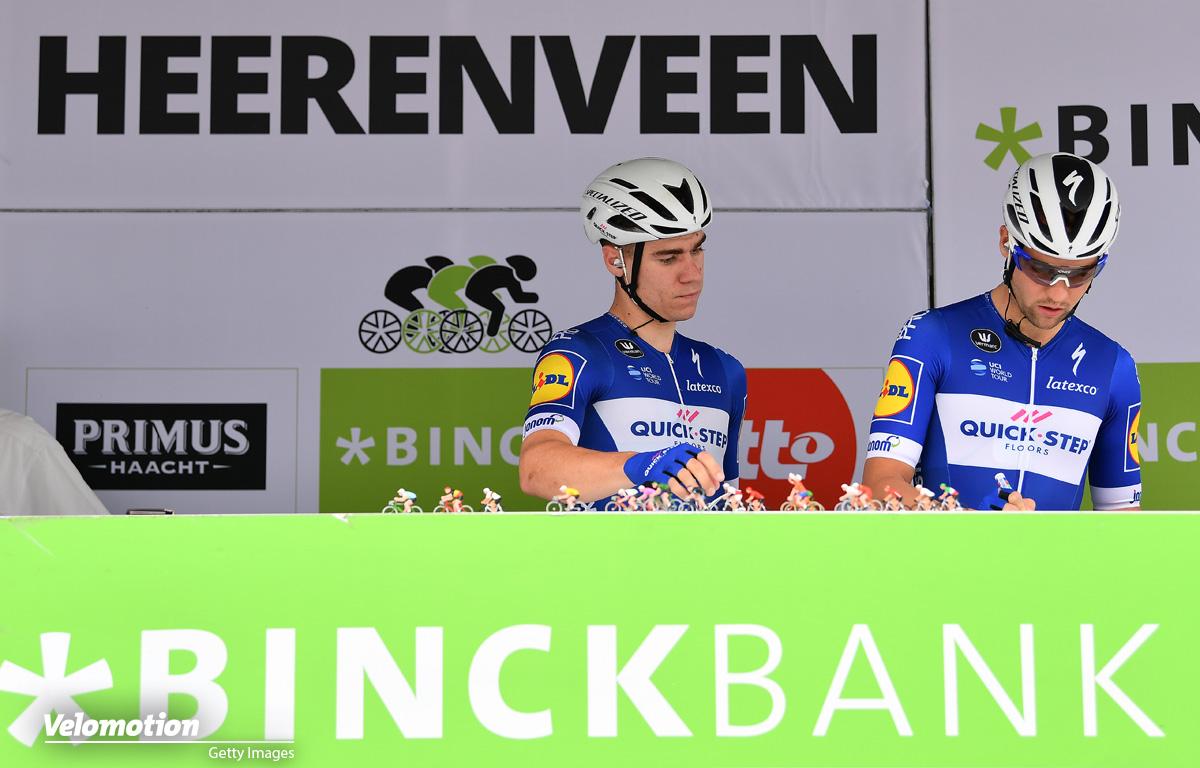 Marcel Kittel Fabio Jakobsen BinckBank Tour