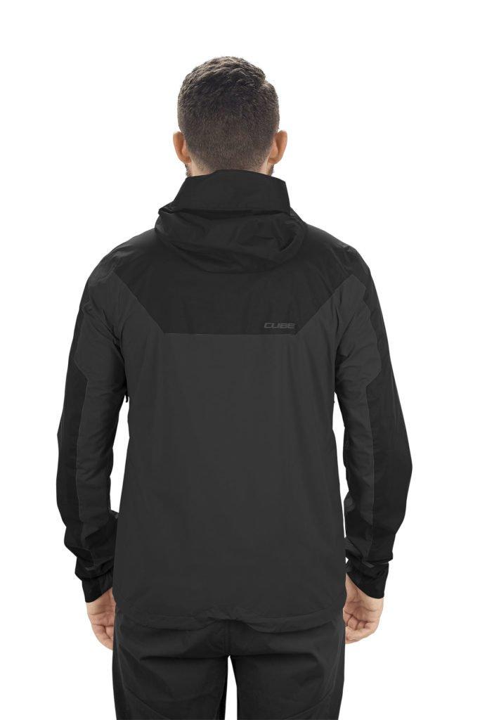 Cube AM Storm Jacket von hinten