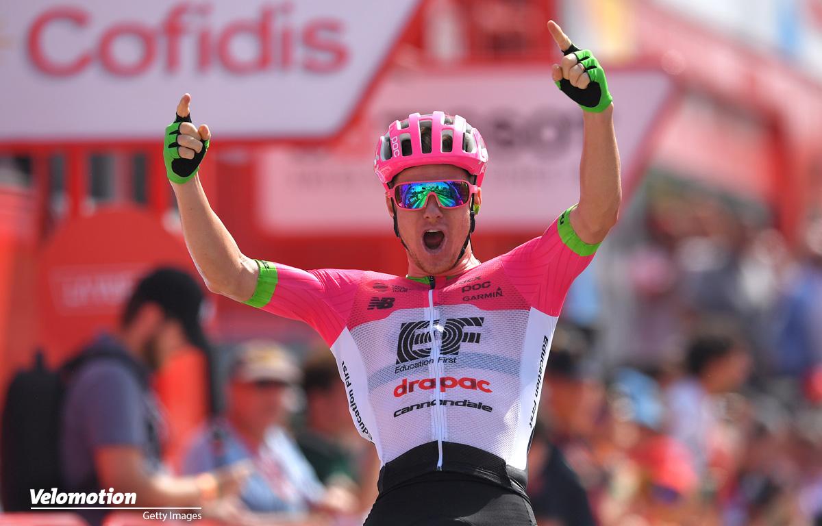 Vuelta a Espana 5. Etappe Clarke Molard