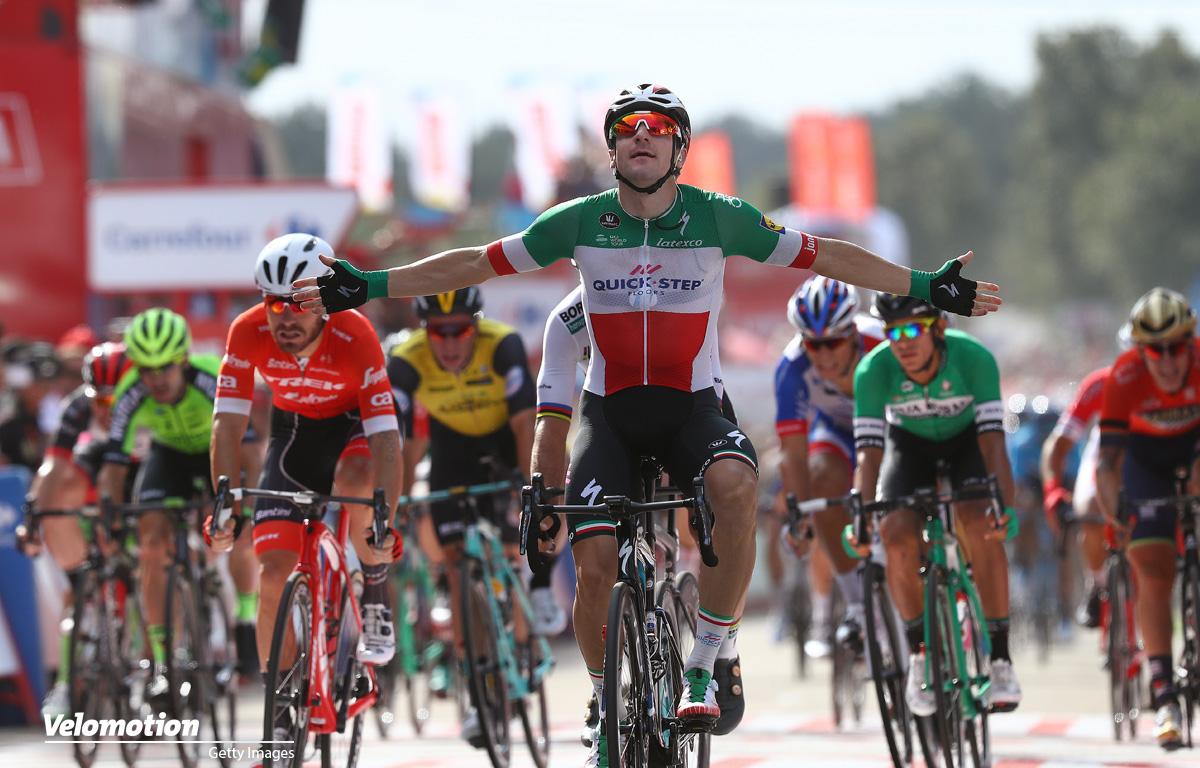 Viviani Vuelta a Espana