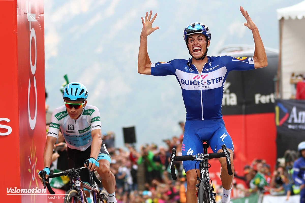 Tour de France 2019 Nachwuchswertung Weißes Trikot Enric Mas