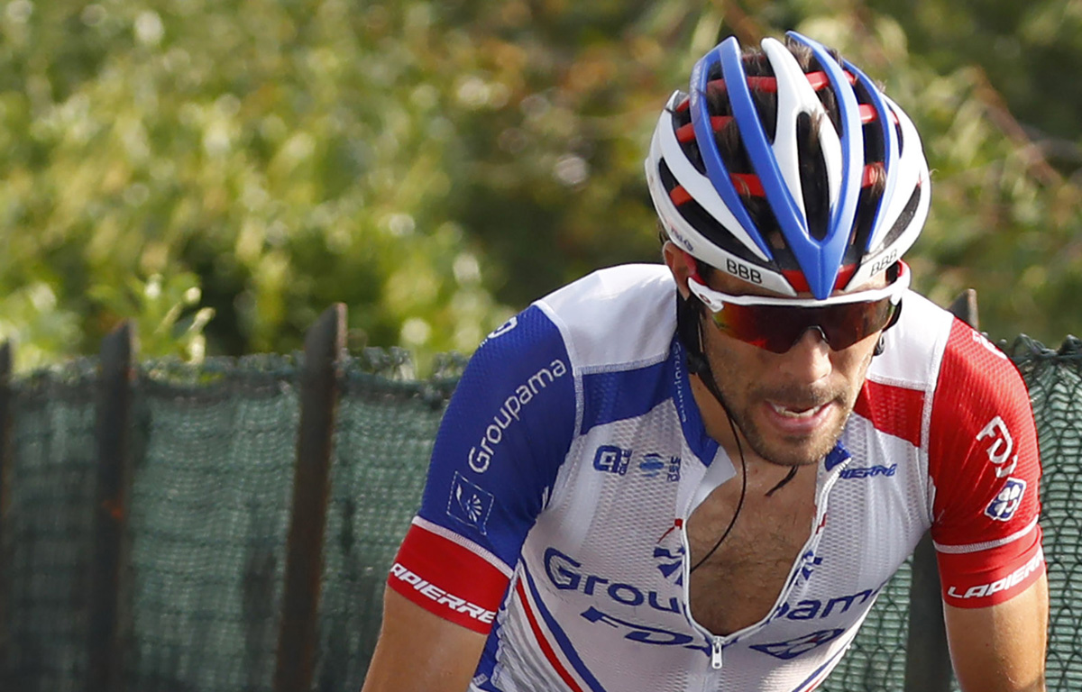 Tour de France 2019 Podium Thibaut Pinot