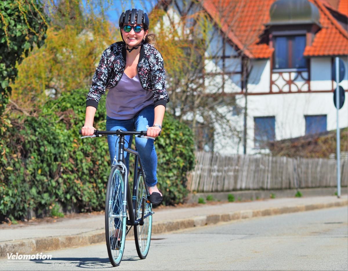 Test: Cooper E Single Speed E-Bike - wie Motor und Akku im