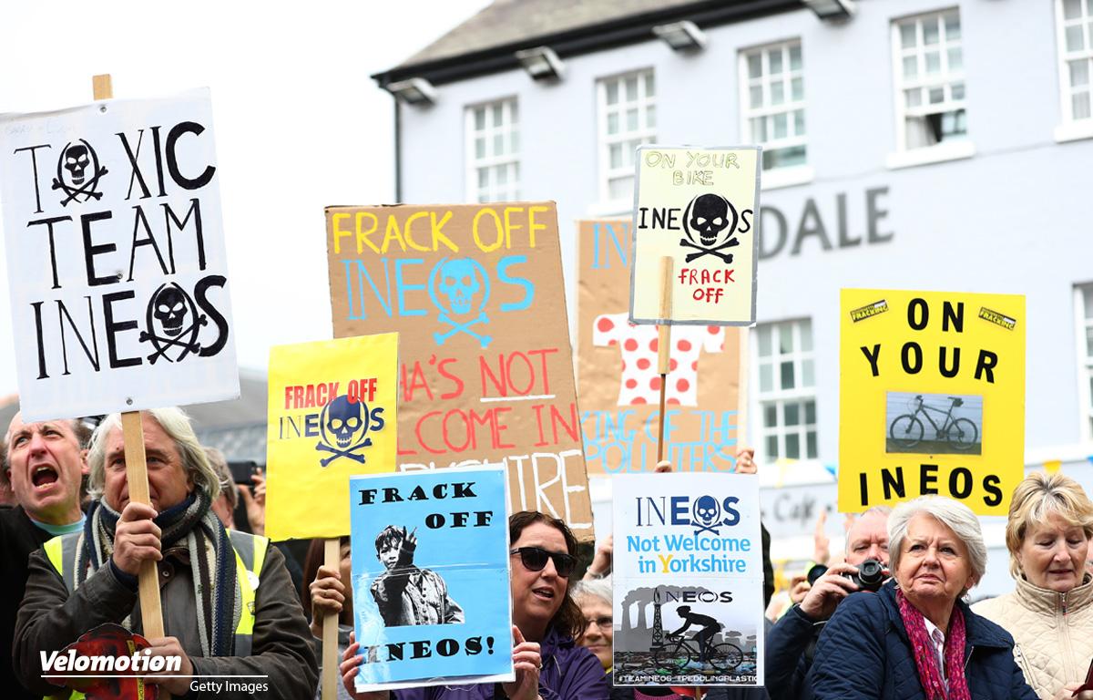 Ineos Proteste Yorkshire