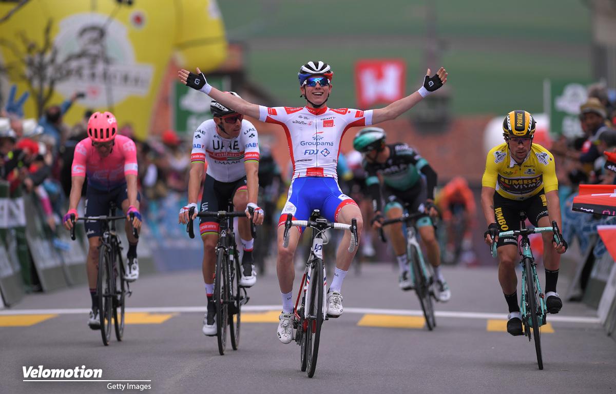 Tour de France 2019 Nachwuchswertung Weißes Trikot David Gaudu