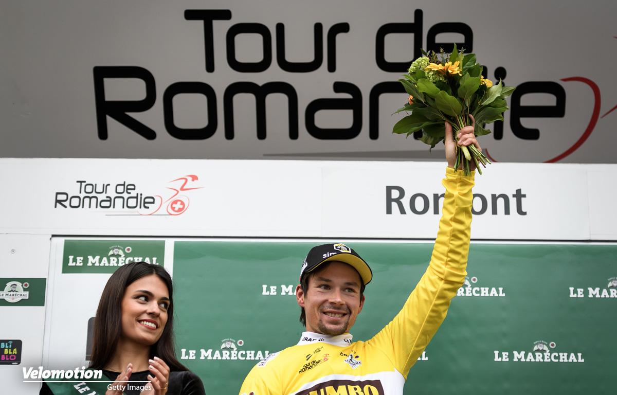 Roglic Tour de Romandie