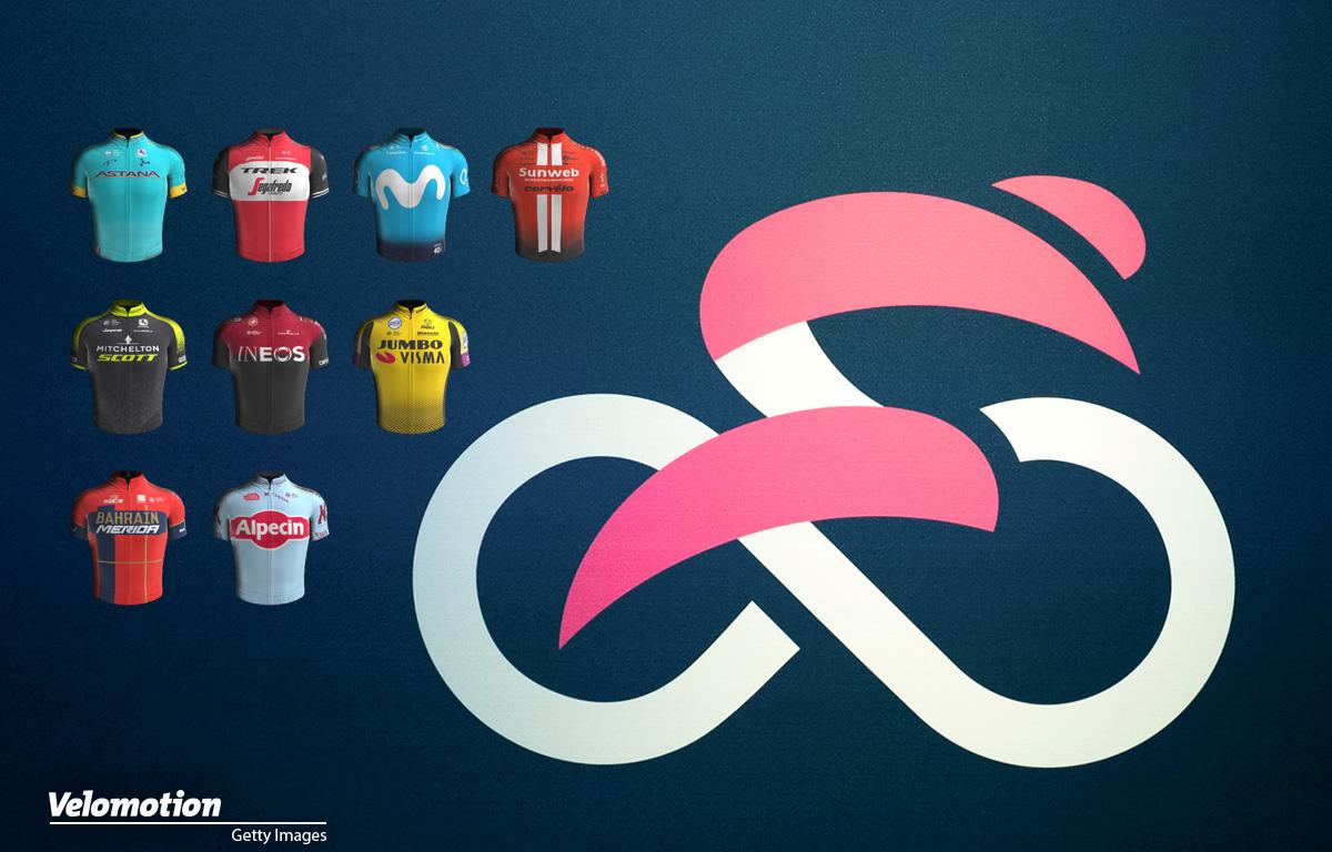 Giro d'Italia Teams Fahrer