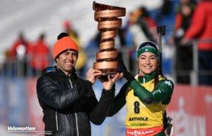 Giro d'Italia Antholz Simoni Wierer Biathlon Radsport
