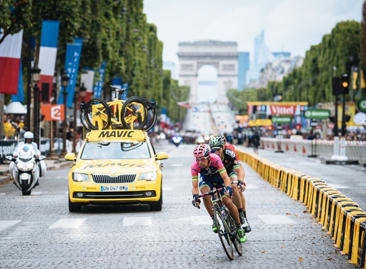 Mavic Laufräder Tour de France Edition