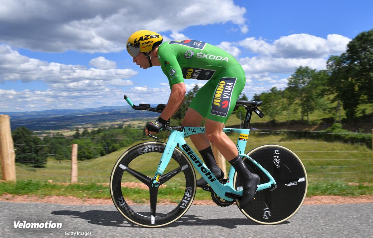 Grünes Trikot Tour de France 2019 Wout van Aert