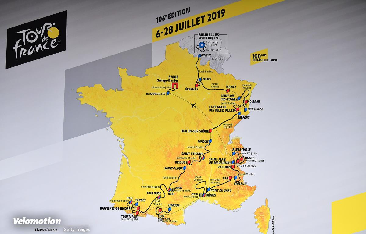 Tour de France 2019 Etappen