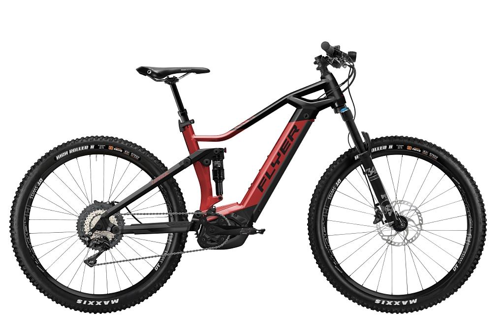FLYER_E-Bikes_Uproc3_870_Fullsuspension_RedBrownBlack