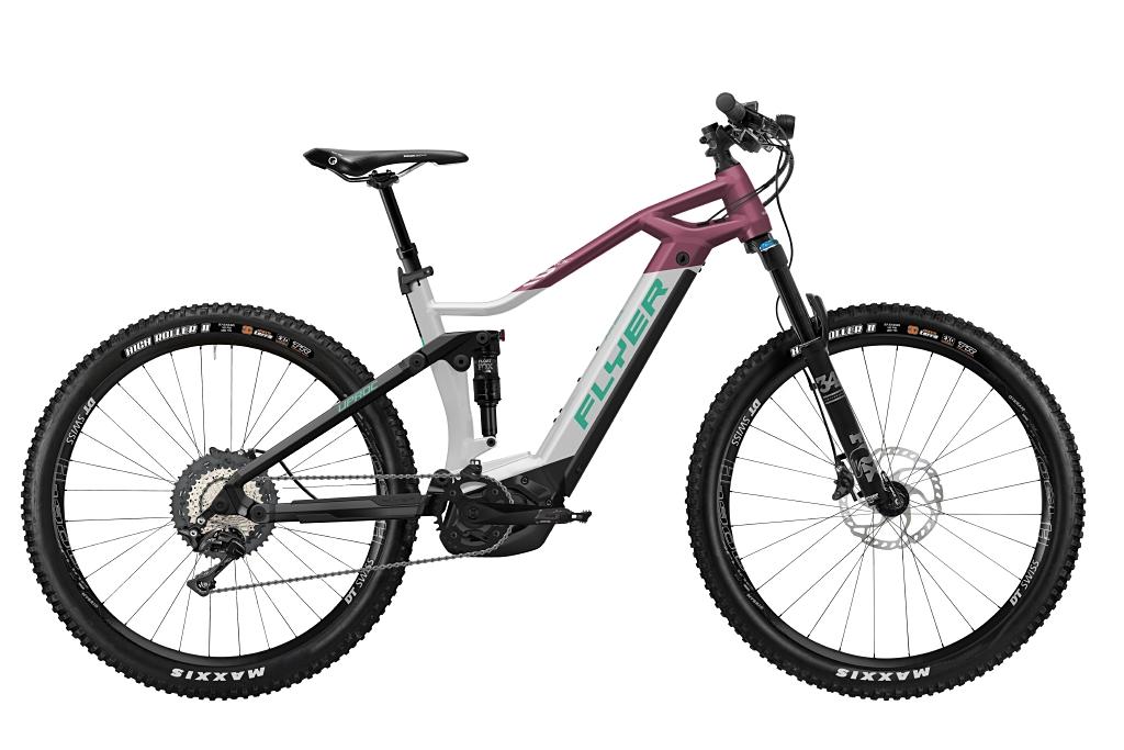 FLYER_E-Bikes_Uproc3_870_Fullsuspension_SolidWhiteBerry