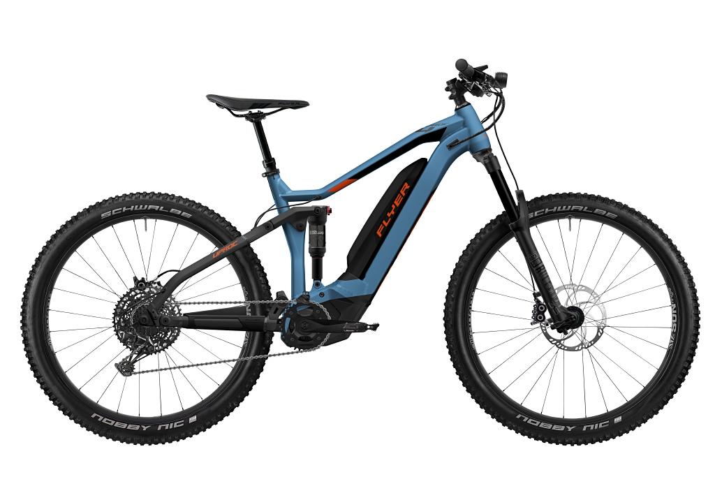 FLYER_E-Bikes_Uproc4_650_Fullsuspension_JeansBlueMagmaRed