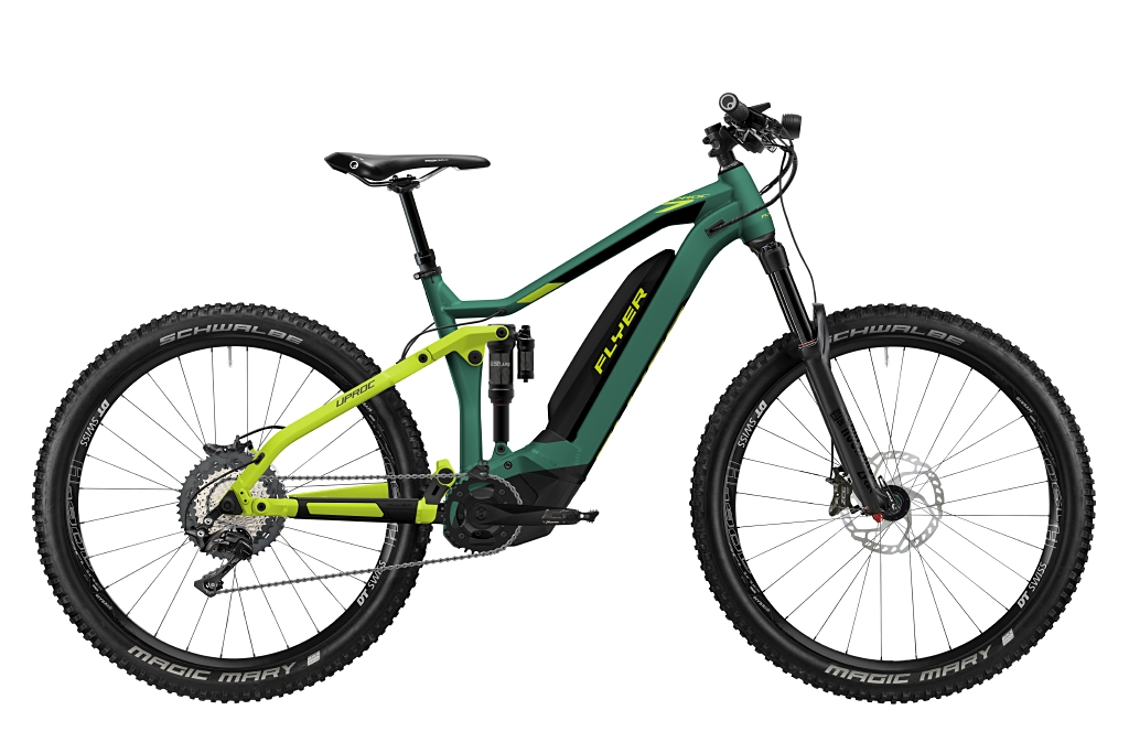 FLYER_E-Bikes_Uproc7_870_Fullsuspension_OpalGreenBlackMatt