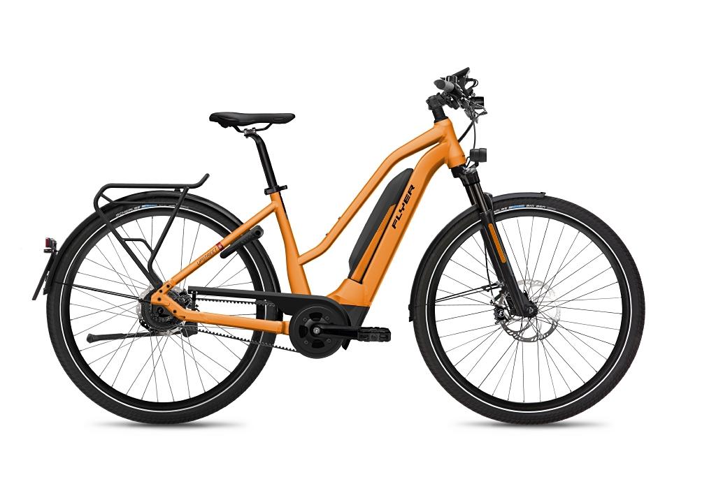 FLYER_E-Bikes_Upstreet5_783_HS_Mixed_TangerineOrangeMatt