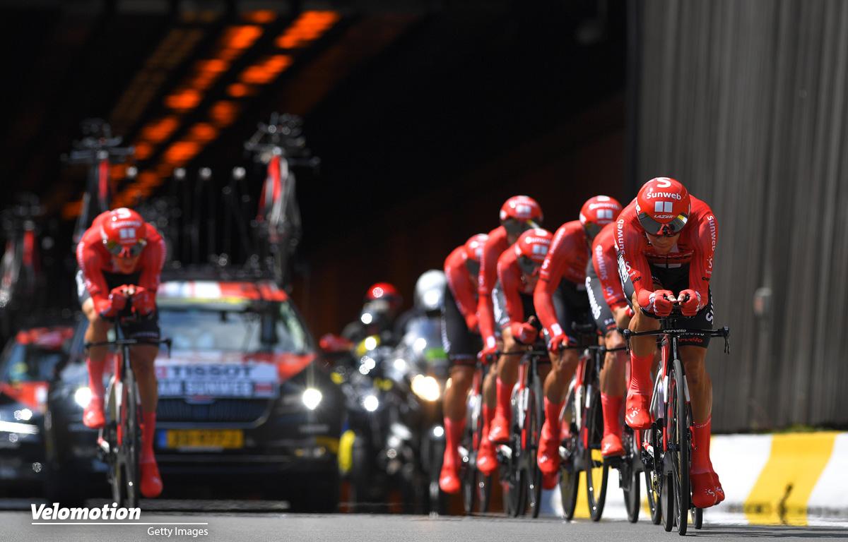 Tour de France Teamzeitfahren Sunweb