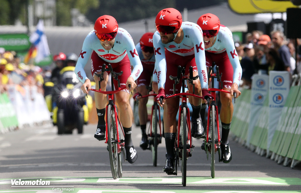 Tour de France Teamzeitfahren Katusha-Alpecin
