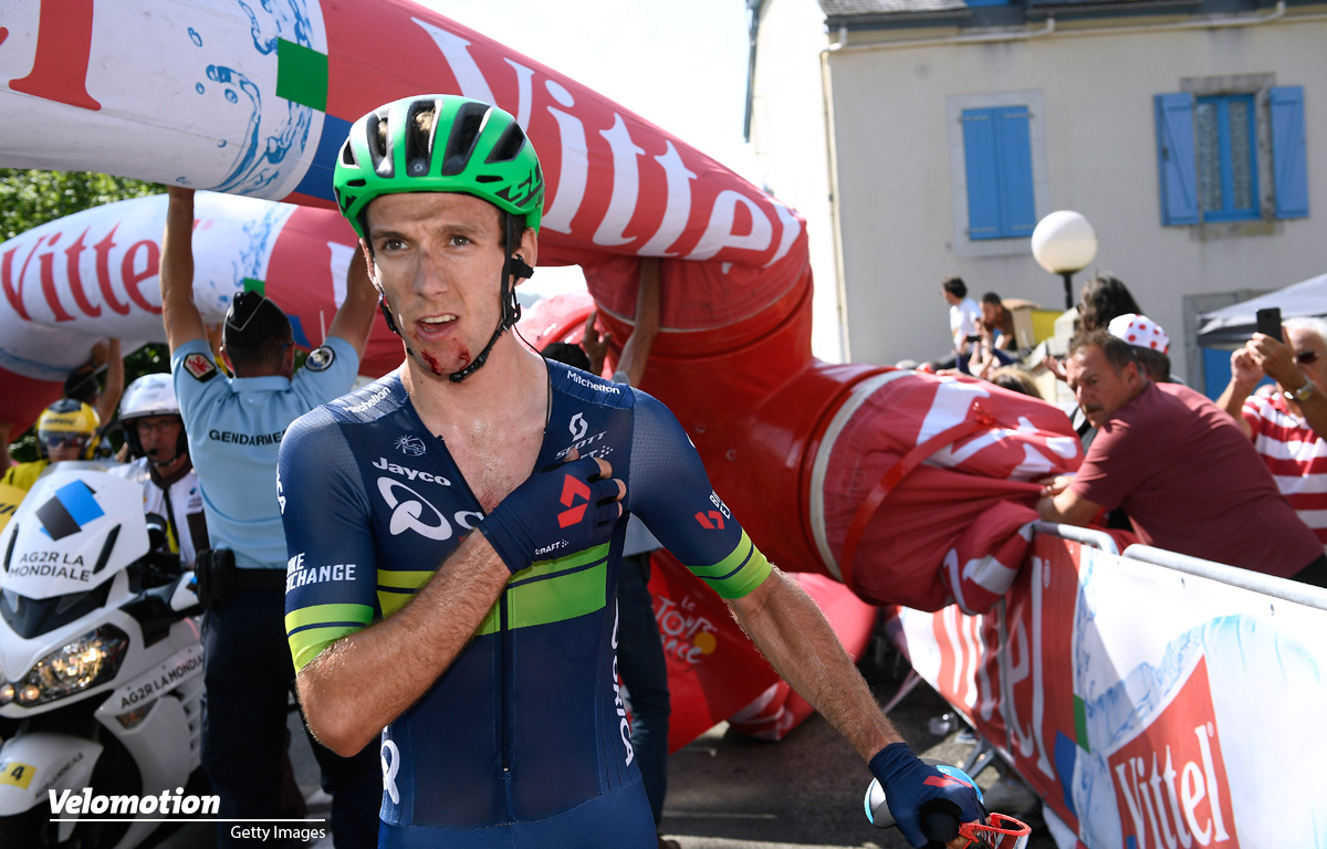 Adam Yates Tour de France Flamme Rouge