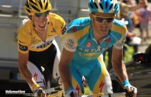 Schleck Contador Tour de France Geschichte