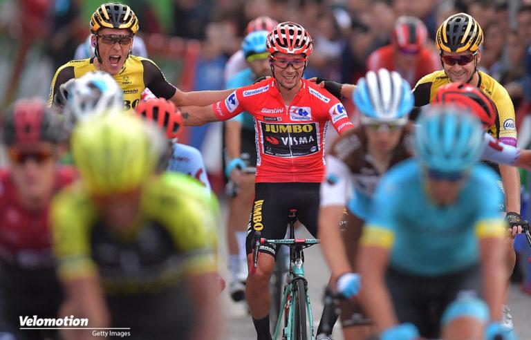 <span class=vmsubtitle>Vuelta a Espana #21:</span> Schlussetappe an Jakobsen, Gesamtsieg an Roglic