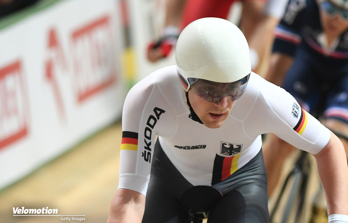 Bahnrad-EM Reinhardt Beyer Bronze Madison