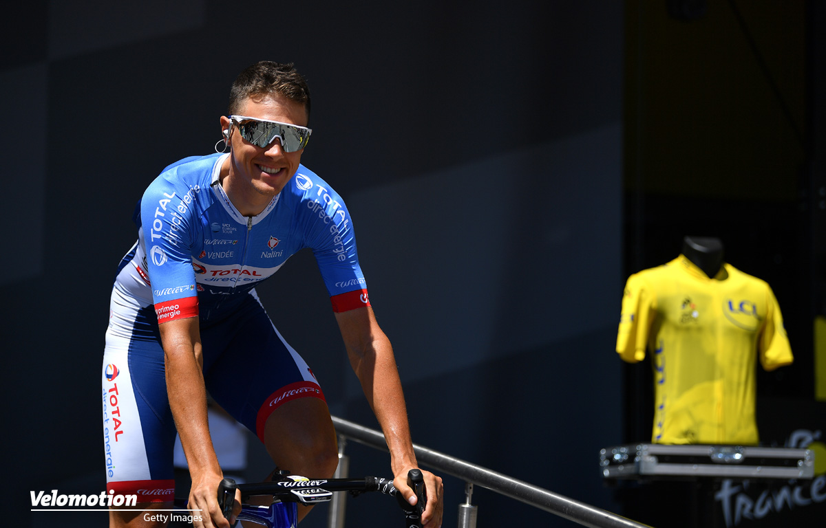 Total Direct Energie Teamvorstellung Terpstra