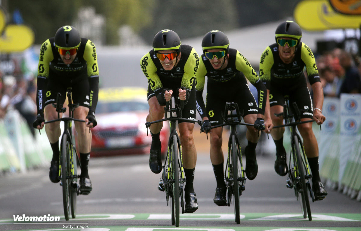 Mitchelton – Scott Teamvorstellung