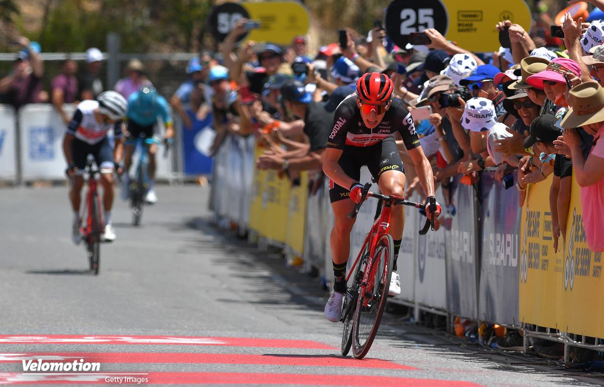 Geschke Porte Holmes Tour Down Under Willunga Hill