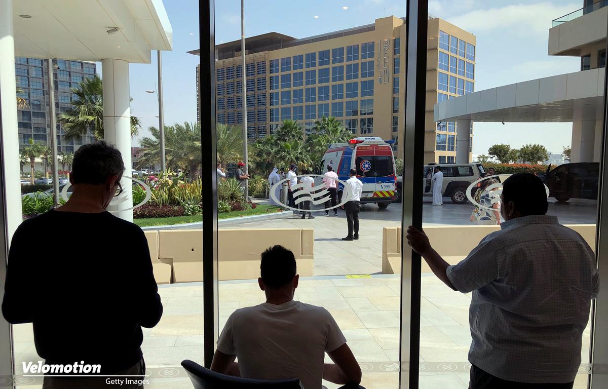 Coronavirus UAE Tour Hotel