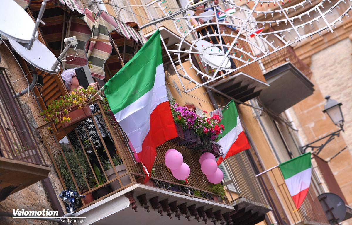 Strade Bianche Coronavirus Italien