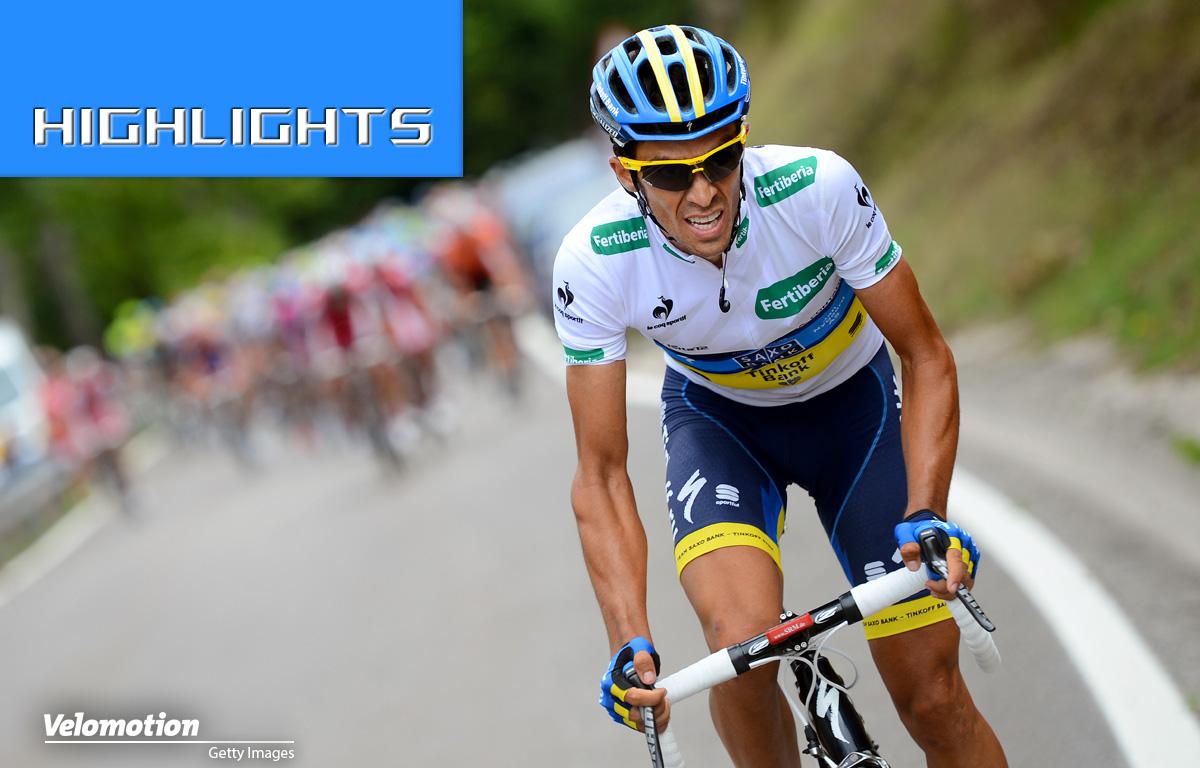Contador Vuelta 2012