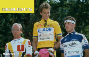LeMond Fignon Tour de France 1989