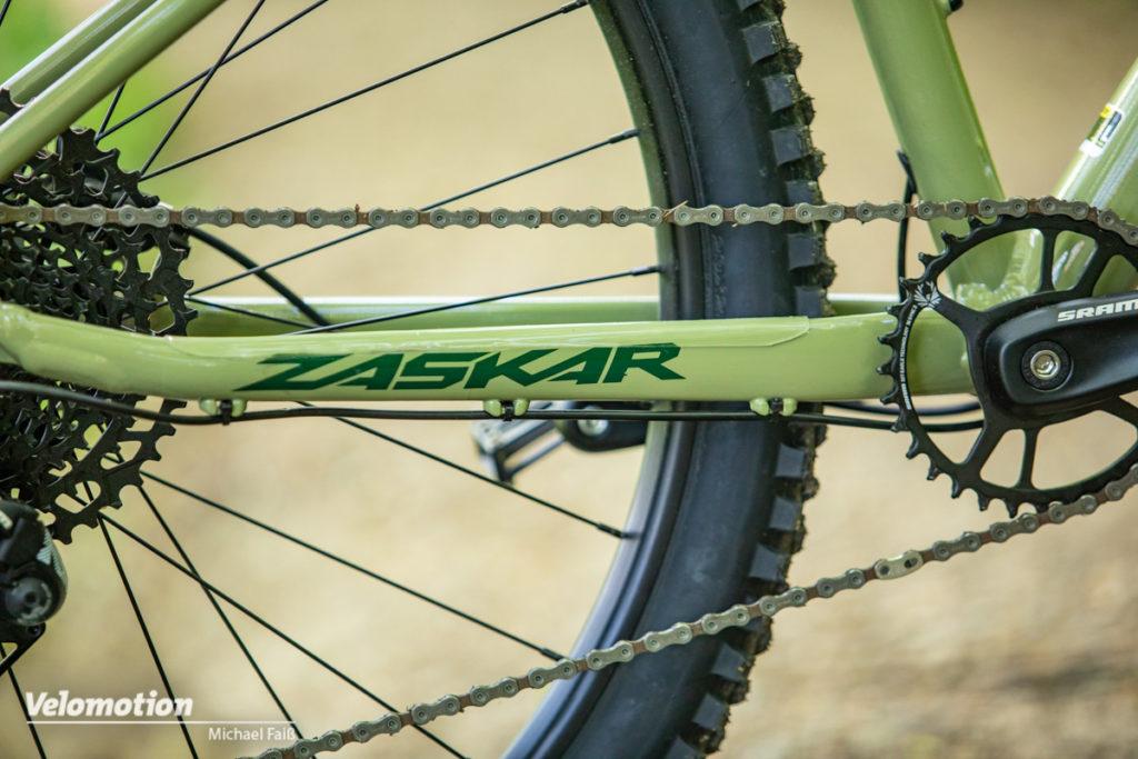 GT Zaskar LT 2021 Expert Detail Kettenstrebe