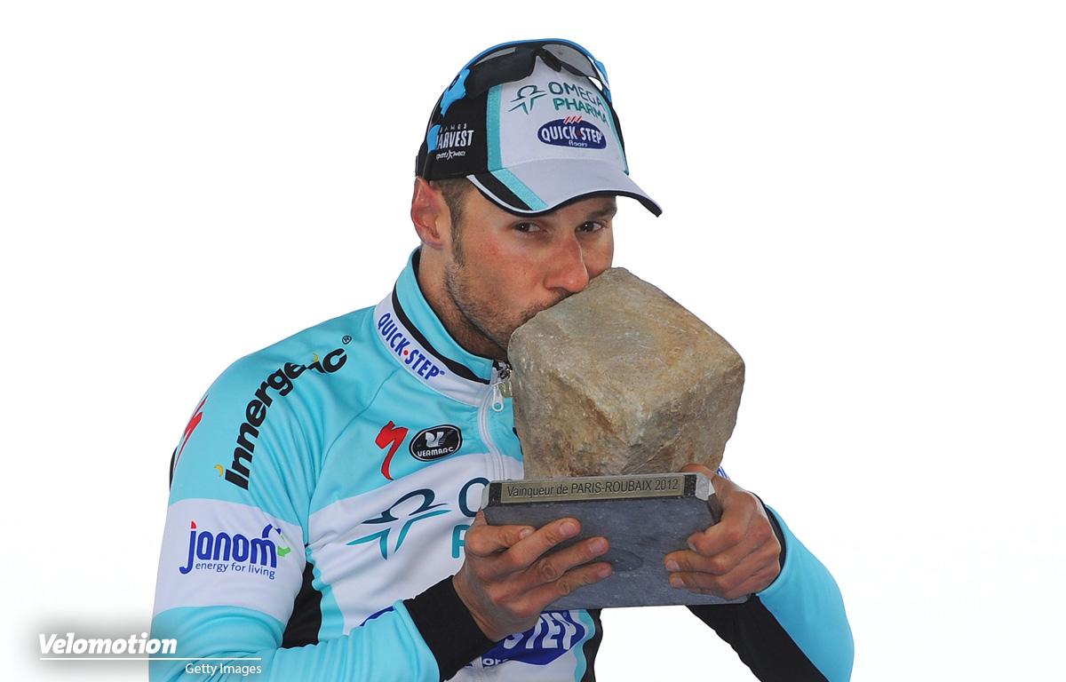 Boonen Roubaix 2012
