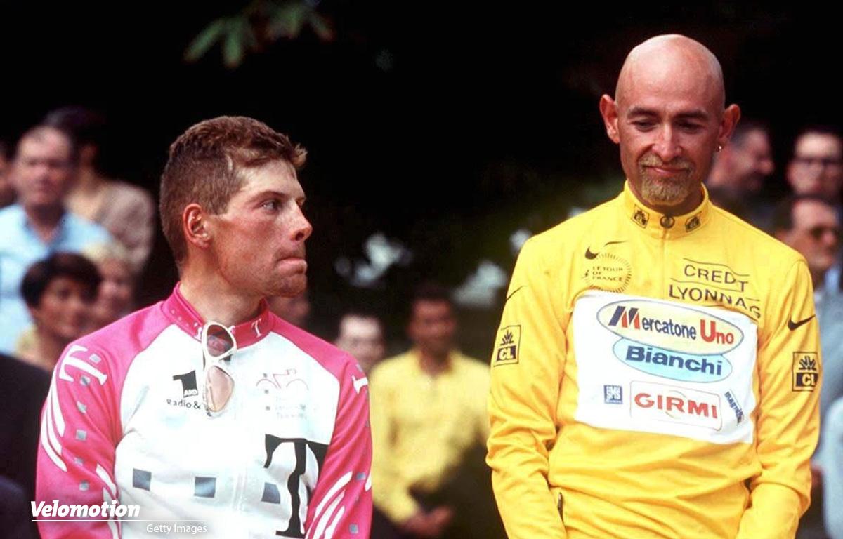 Ullrich Pantani 1998 Tour