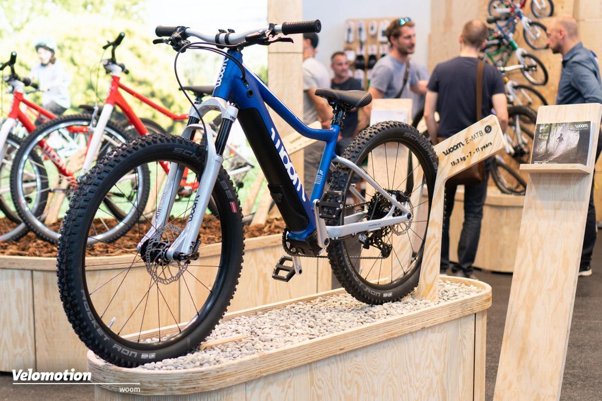 Das Kinder E-Mountainbike : Woom Up