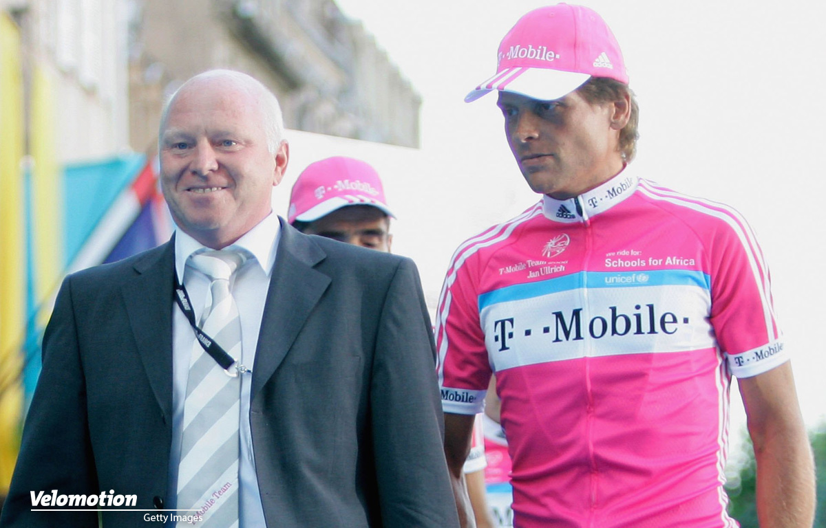 Rudy Pevenage Jan Ullrich